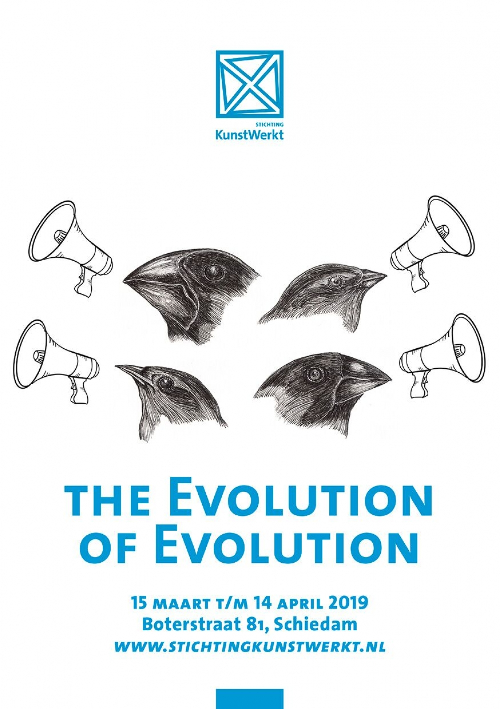The evolution of evolution in Ruimte in Beweging