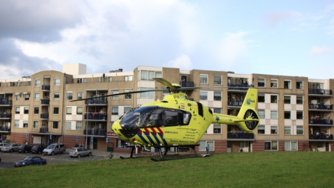 Traumahelikopter ingezet voor kind